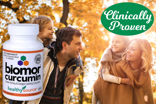 Patented for Best Absorption, Faster-Acting, Longer-Lasting Curcumin