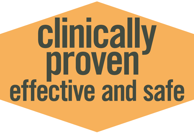 Clinically Proven Safe and Effective