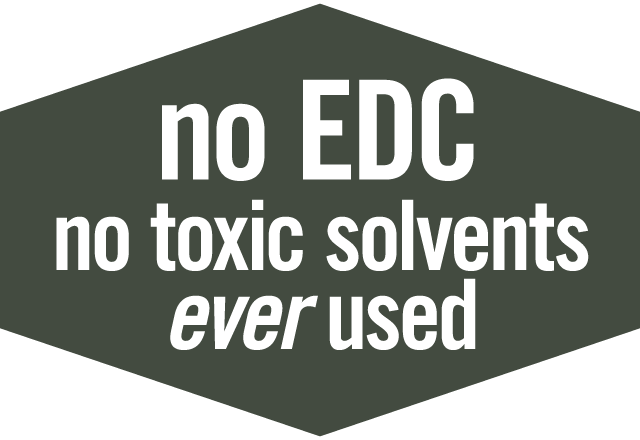 NO EDC: No Toxic Solvents Ever Used in BIOMOR Curcumin